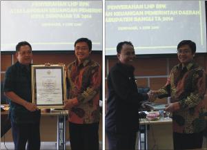 Berita - Penyerahan LHP Bangli dan Denpasar2