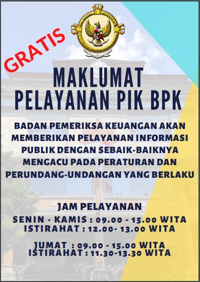 Pusat Informasi Dan Komunikasi Bpk Ri Perwakilan Provinsi Bali